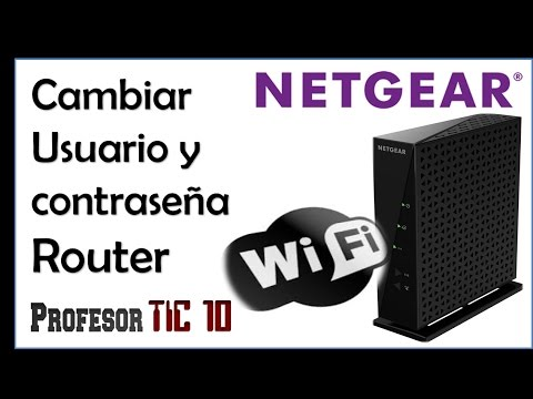 Change Netgear Router username and password | Cómo cambiar usuario y contraseña del Router Netgear