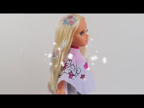 Cute Baby Doll Hair Salon Hair Shop -Play hairdresser with Dolls