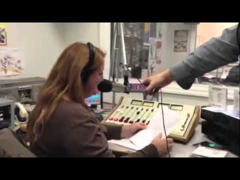 Tracie Tries Out the Speech Jammer App On-Air