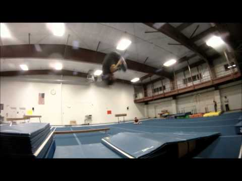Freerunning at Get Fit (March 9th 2012)