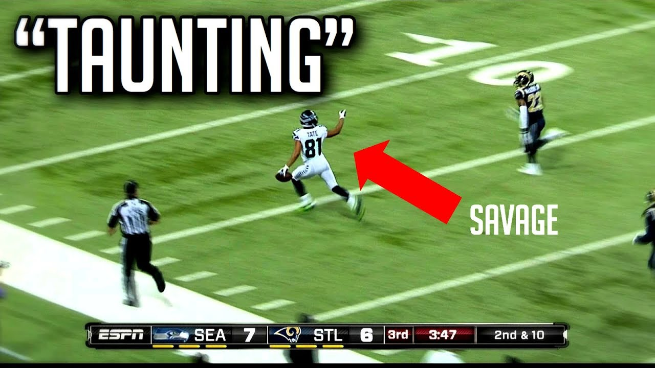 NFL Best Taunting Moments    HD
