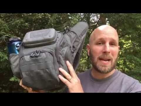 Maxpedition Wolfspur Crossbody Bag: Everyday Carry Goodness | CCW Pocket, Lots of Storage