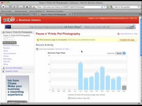 How to Use Yelp for Business Tutorial