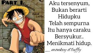 Kata Kata Mutiara Dalam Serial One Piece Part1