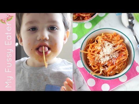 Simple Spaghetti Sauce for Kids | Easy Tomato Pasta Sauce