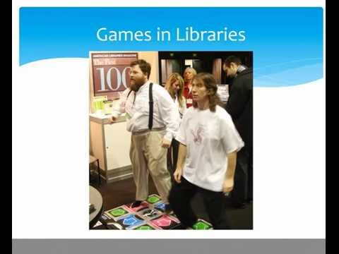 Gamification in Libraries presentation for Library 2.012 conference