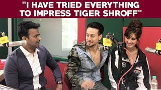 "Disha Patani says ""I have tried everything to impress Tiger Shroff"""