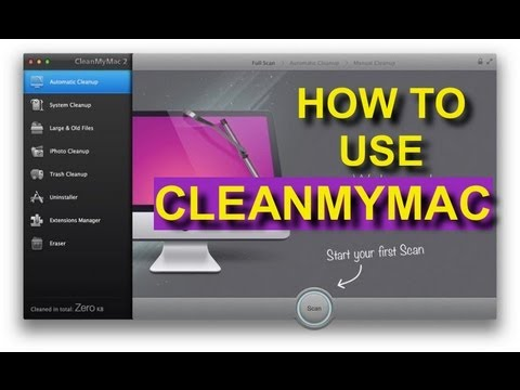 How To Use Clean My Mac For Mac OS X