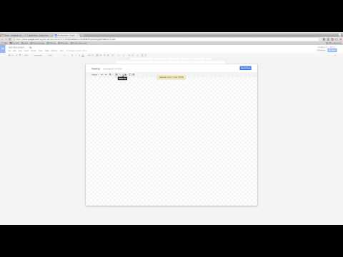 Google Documents - Insert Word Art and Drawings