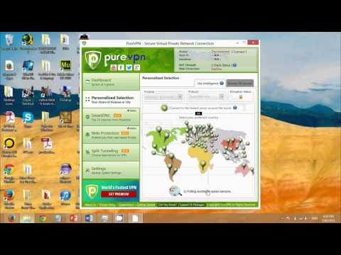 Setup VPN Windows 8 in less then 30 seconds using Pure VPN