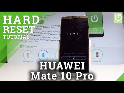 HUAWEI Mate 10 Pro HARD RESET / Bypass Screen Lock