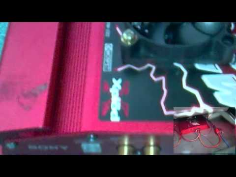 sony xplod amp 222watts