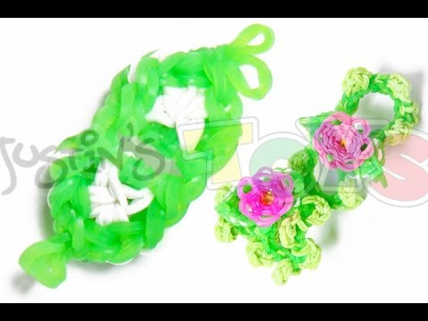 How to Make A Rainbow Loom Flower Bracelet - Part 2 - Petals