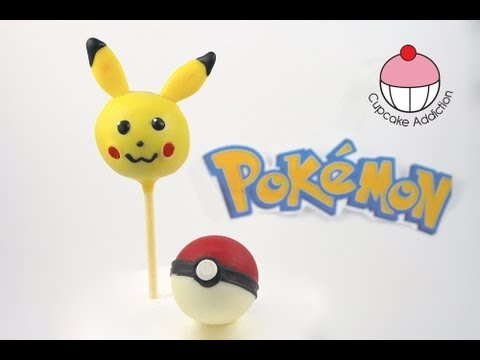 Make Pokemon Pikachu Cake Pops! A Cupcake Addiction How to Tutorial