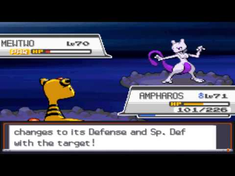 Pokémon Soul Silver - Capturing Mewtwo