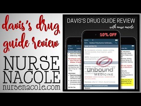 The Davis's Drug Guide Review | Nurse Nacole