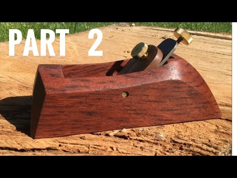 How To Make a Wood Hand Plane!!! Part 2. | Woodworking