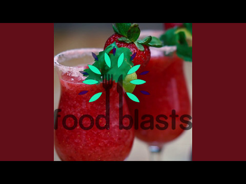 Strawberry and Lime Frozen Margaritas Recipe | Foodblasts
