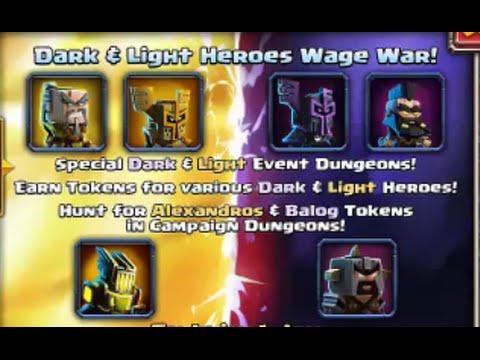 LIGHT vs DARK EVENT!! - 3 Starring all Dungeons - Dungeon Boss