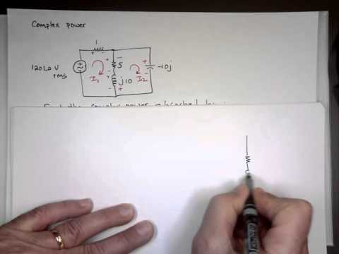 Examples on Complex Power, Power Factor, Average Power and Apparent power