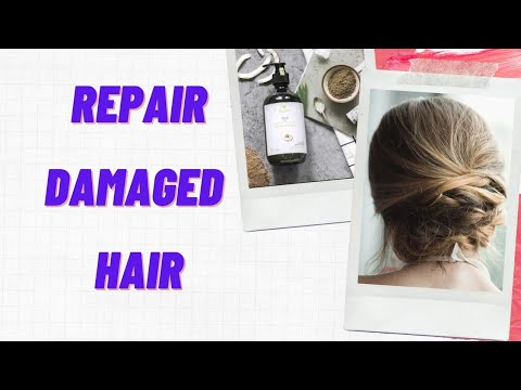 Homemade treatment for damage hair - Repair and get silky, smooth and shiny hairs at home
