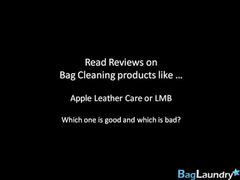 Reviews on Bag Cleaner, Conditioner and Cleaning Products | BagLaundry.com