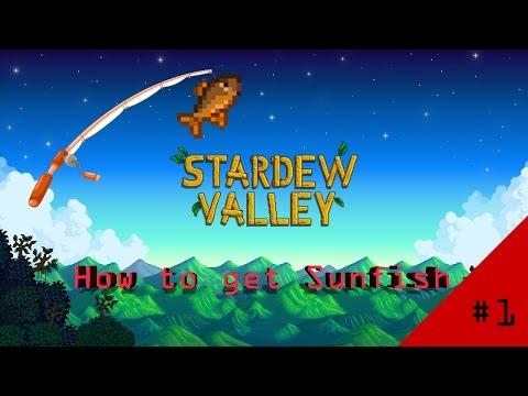 [Tutorial] Stardew Valley - How to get Sunfish