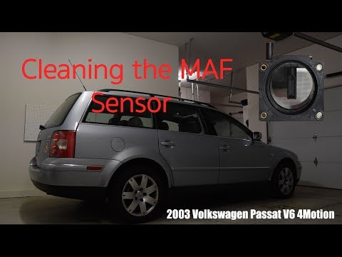 Cleaning Your MAF Sensor, VW Passat V6 B5.5/1.8T/Audi V6