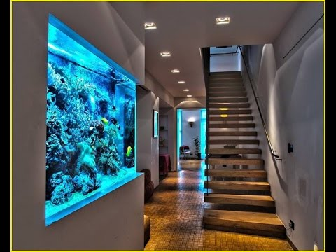 22 Extremely Interesting Ideas to put Aquarium in Interior Spaces- Plan n Design
