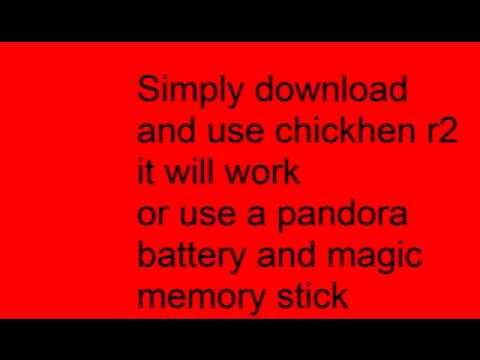 PSP 3000 hack easy!!!! quick!!!