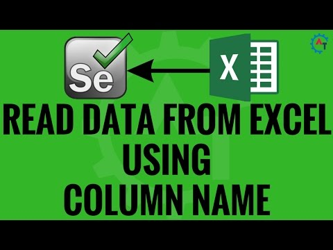 Read Data From Excel Using Column Name