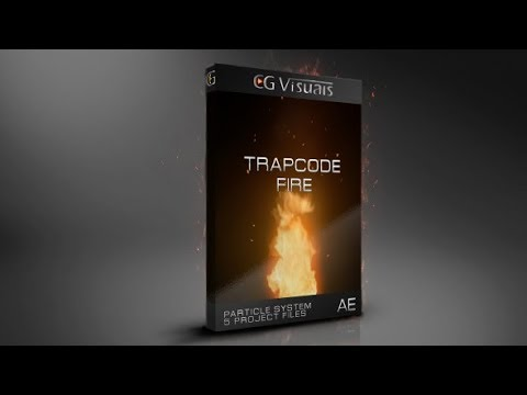 Trapcode Fire Particle System | After Effects template