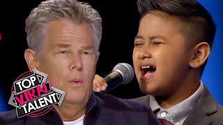 Kid Singer SURPRISES JUDGES with his UNIQUE SOUNDING VOICE!