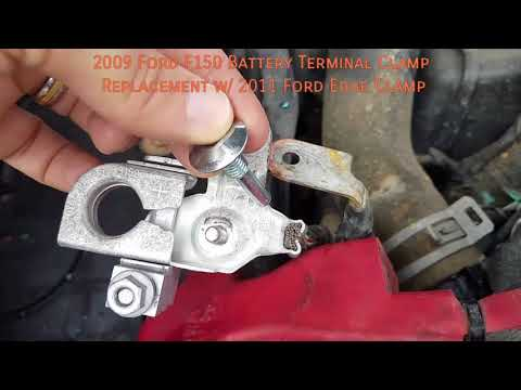 2009 Ford F150 Battery Terminal Clamp Replacement w/ 2011 Ford Edge Clamp