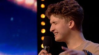 Britain's Got Talent Unseen 2020 Aaron Frith Full Audition S14E02