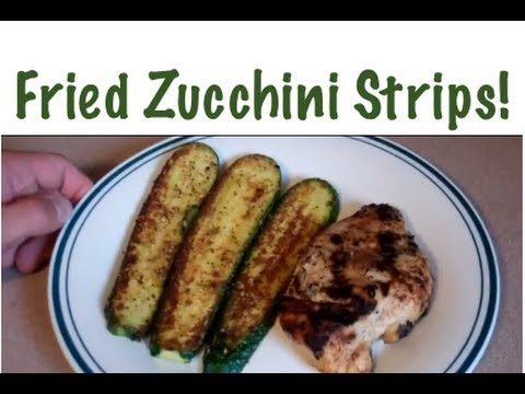 Fried Zucchini Recipe - Eat Your Veggies!
