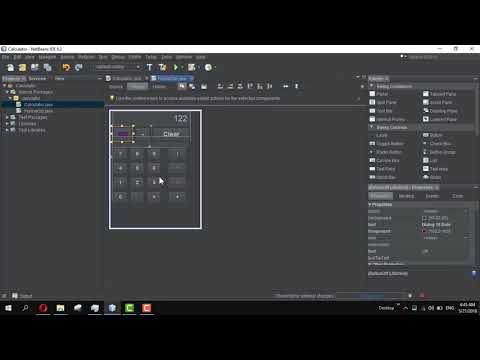 How to Create Off Button Calculator in Java #5