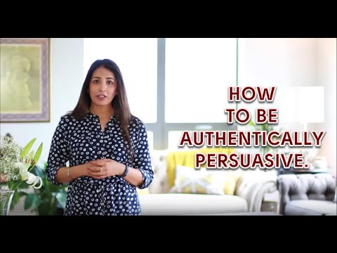 How To Be Authentically Persuasive