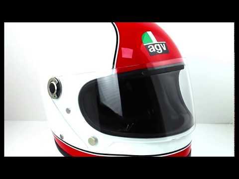 AGV Legends X3000 SUPER AGV Helmet White Red