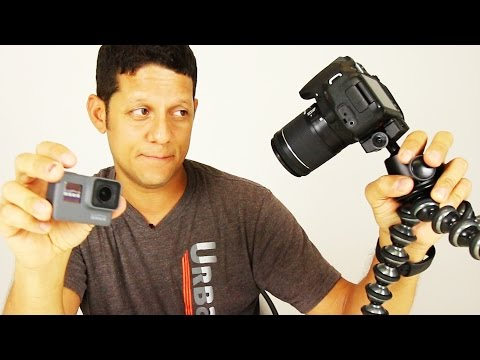 GoPro 5 vs Canon 70D Comparison. How much better do you think?