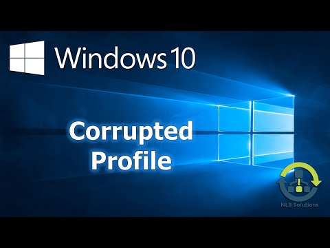 How to re-create a corrupted profile in Windows 10 (Step by Step guide)
