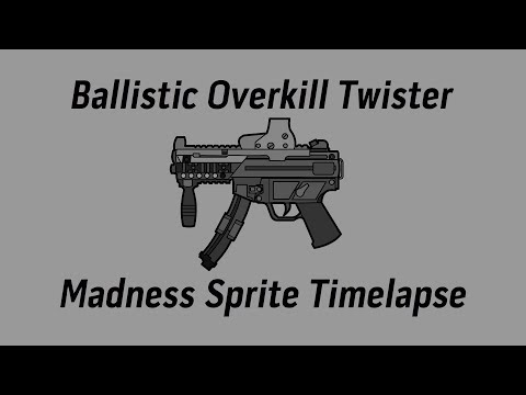 Twister Madness Sprite Timelapse