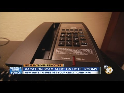 Thieves develop new way to get credit card numbers at hotels