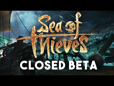 SEA OF THIEVES: Closed Beta Let's Play Part 2 - The Search for Booty!!
