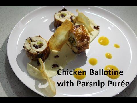 Chicken Ballotine  -Chefstreet-