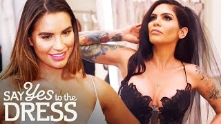 Stunning Celebrity Brides Shop For Their Wedding Dresses | Say Yes To The Dress