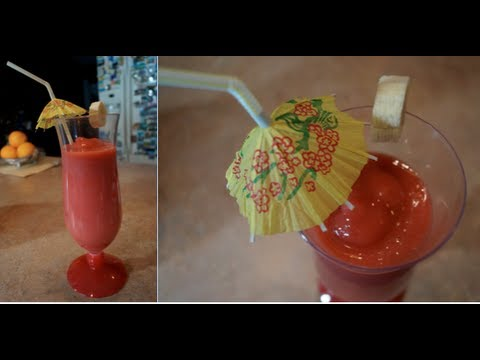 Homemade Smoothie King's Caribbean Way!