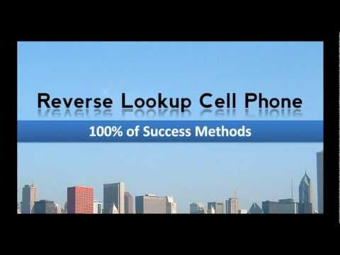 Reverse Lookup Cell Phone - 100% of Success Methods