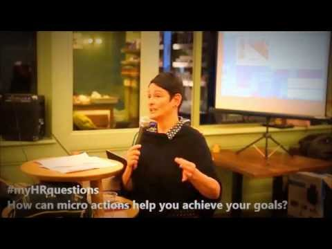 myHRquestions: How can I achieve my goals through micro actions?