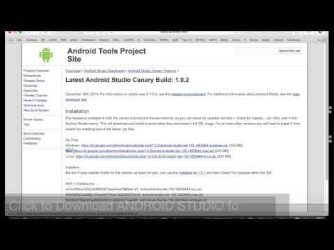 How to Download & Install ANDROID STUDIO on Mac OS X (Easy Tutorial)